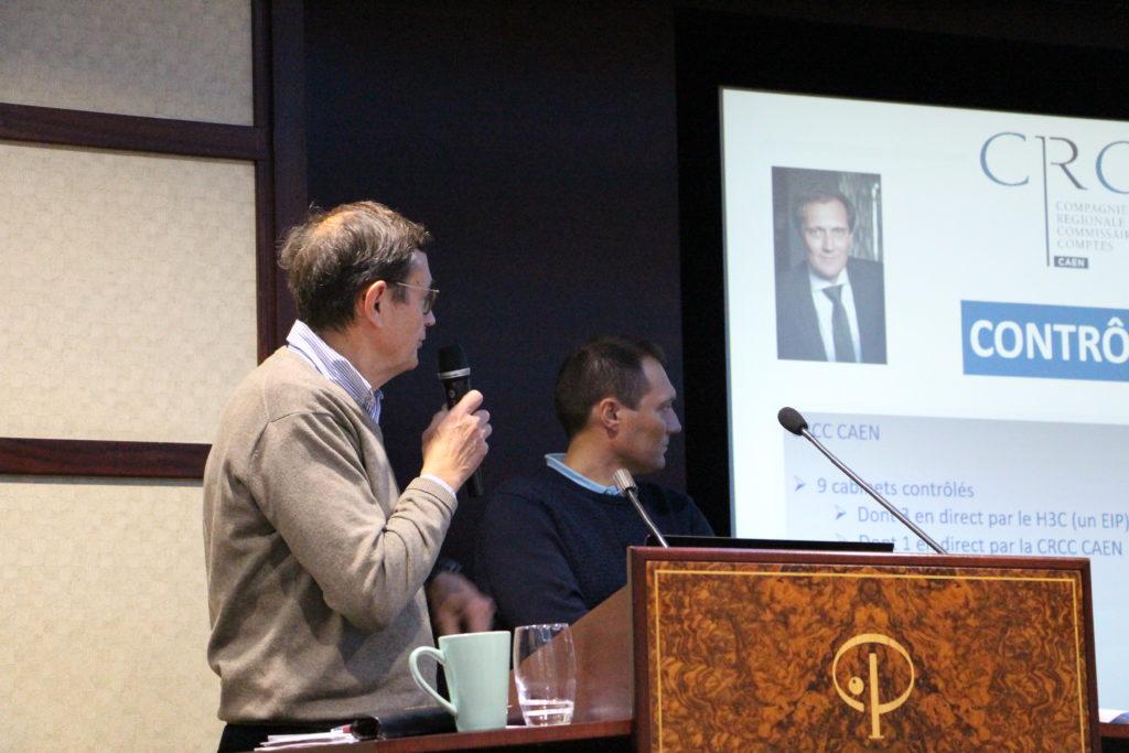 Bertrand AUBER et Jean-Max YVER, en charge de la qualité