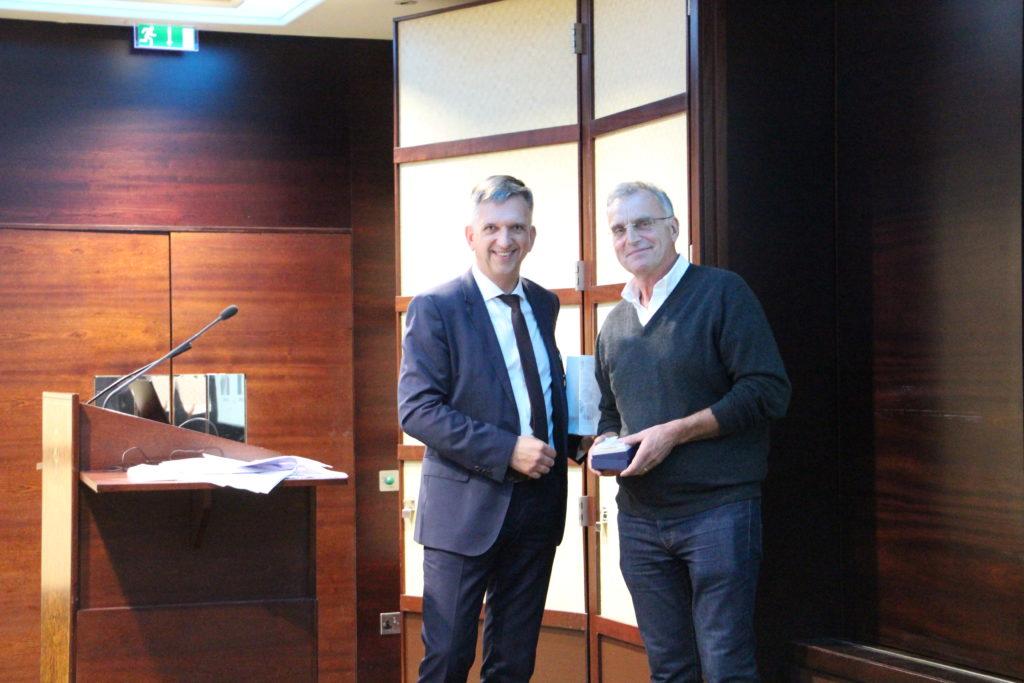 Remise de médaille à Marc CAMPAN, ancien élu de la CRCC CAEN