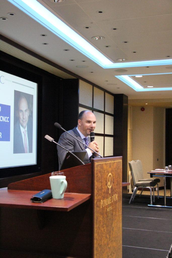 Intervention de Yannick OLLIVIER, Vice-Président de la CNCC et de la CRCC CAEN