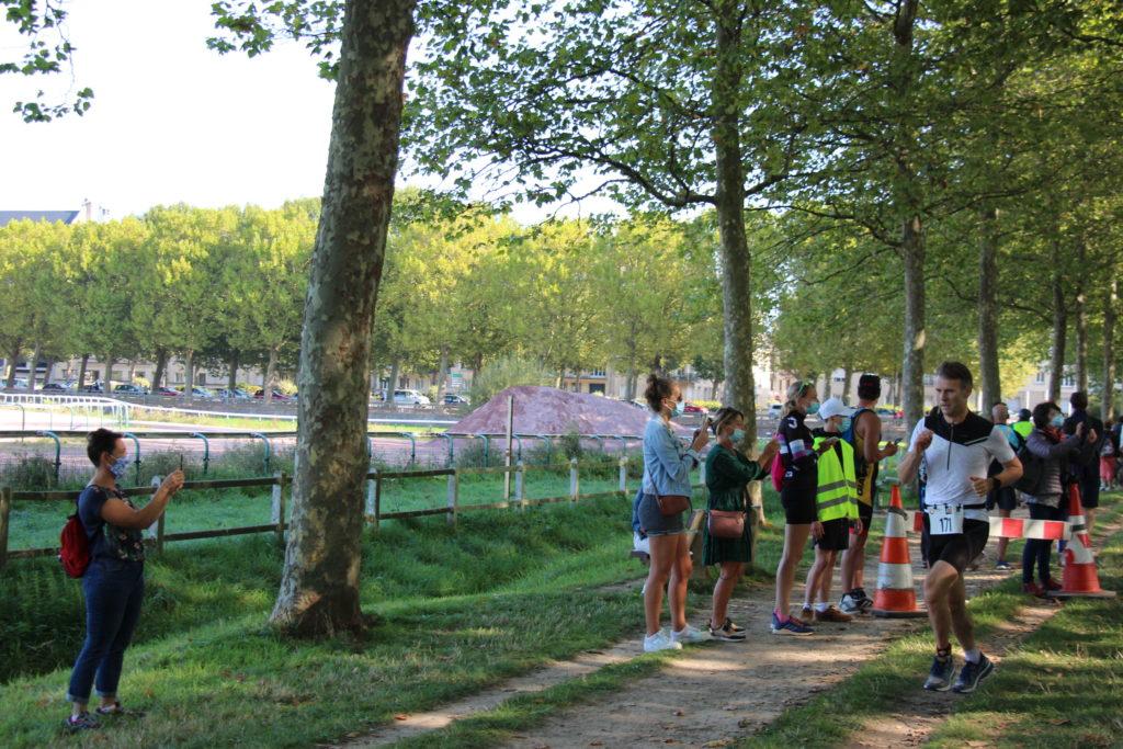 Dernière épreuve : course à pied - Eric Galerne, enseignant au Lycée Jean Rostand